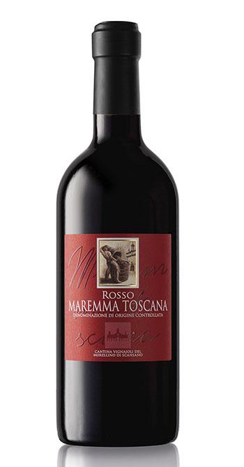 Maremma Toscana Doc Rosso della Cantina del Morellino